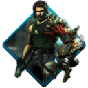 bionic, commando icon