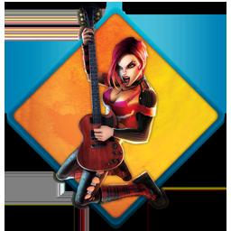 guitar hero, music, rock icon