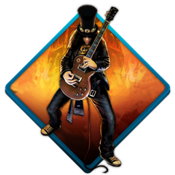 guitar, guitar hero, music, rock, slash icon