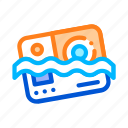 camera, material, waterproof icon icon