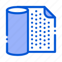 material, napkin, waterproof icon icon
