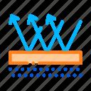 floor, material, waterproof icon icon