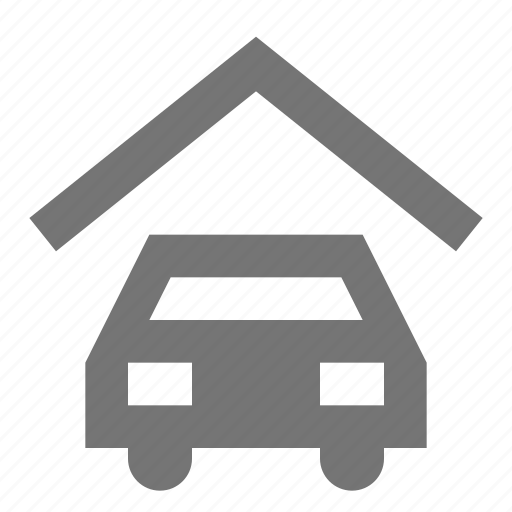 car, garage, parking icon