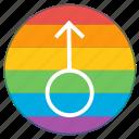 boy, lgbt, male, man, mars, pride flag, rainbow icon
