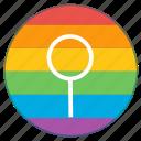 gender, lgbt, medieval, neuter, pride flag, rainbow icon