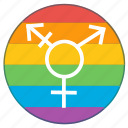 gay, gender, lgbt, pride, pride flag, rainbow, transgender icon