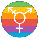 flag, gender, lgbt, pride flag, rainbow, transgender icon