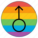 flag, gender, human, lgbt, male, man, mars icon