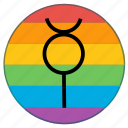 flag, gender, lgbt, mercury, pride flag, rainbow, virgin icon