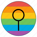 flag, flags, gender, lgbt, medieval, neuter, rainbow icon