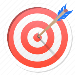 ads, advertisement, aim, archer, archery, arrow, bullseye, dart, finance, game, goal, investment, management, objective, point, purpose, right, shooting, skilled, sport, success, target, win, winner icon
