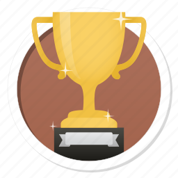 acknowledge, acknowledgement, award, badge, best, challenge, conquest, cup, first, game, gamification, gold, hero, medal, praise, premium, prize, quality, rank, ranking, reward, star, trophy, victory, win, winner icon