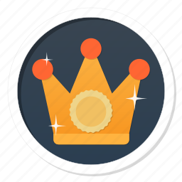 achievement, award, badge, best, boss, champion, crown, game, gamification, god, good, governor, king, lord, main, member, money, power, premium, prince, princess, queen, rich, royal, ruler, superior, top, trophy, update, upgrade, wealth, win, winner icon