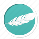 adobe, best, ergonomic, feather, fly, light, lightest, natural, nature, photoshop, ps, soft, softest, white, wight icon