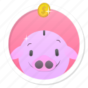%, bank, banking, cash, cheap, cheapest, coin, currency, deal, deposit, discount, dollar, dollars, finance, financial, guardar, money, offer, payment, pig, piggy, piggy bank, price, save, shopping icon