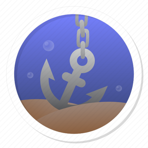 anchor, aquatic, boat, deep, down, end, grapple, harbor, hard, heavy, link, marine, maritime, nautical, ocean, oceanic, port, safe, safety, sea, secure, serious, sink, subocean, suboceanic, tough, weigh, weight icon