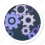 advanced, complex, complicated, configuration, configure, control, customize, gear, gear wheel, gears, go, hard, industrious, industry, machine, mechanics, options, preferences, rotate, settings, start, stop, system, technology, tools, work icon