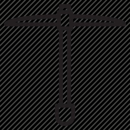 construction, shovel, tool, weapon icon