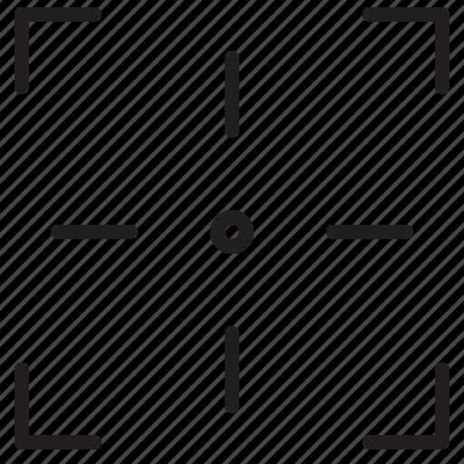 focus, interface, target, weapon icon