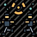 alert, nuclear, power, radiation
