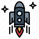 crime, kill, murder, rocket icon