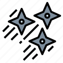 assasin, blade, ninjas, shuriken icon