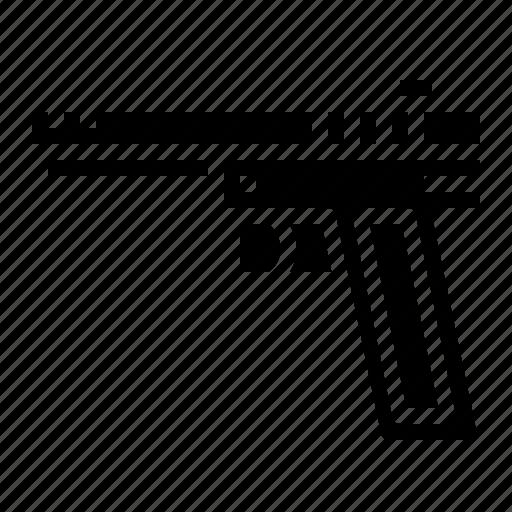 gun, pistol, war, weapon icon