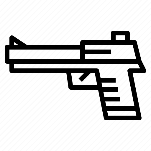 Crime, gun, kill, weapon icon - Download on Iconfinder