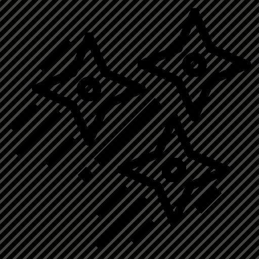 Assasin, blade, ninjas, shuriken icon - Download on Iconfinder