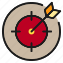 focus, game, target, weapon icon