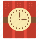 bomb, explosions, explosive, explosives, timed, weaponary, weapons icon
