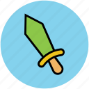 knife, sharp knife, throwing knife, weapon icon