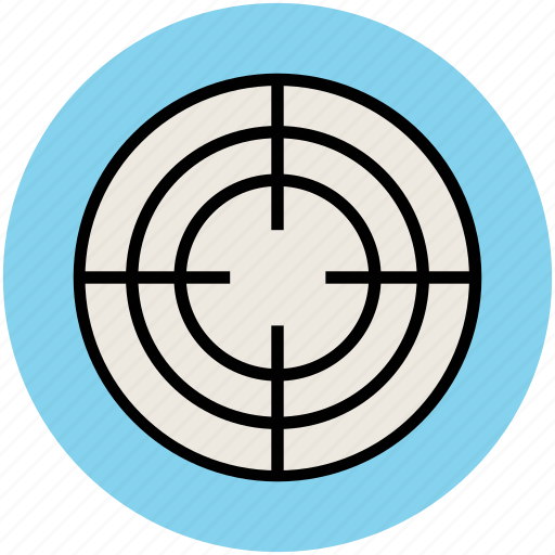aim, pursuit of goals, reticle, target, targeting icon