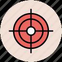 aim, dart board, focus, goal, target icon