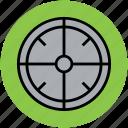 crosshair, focus, peephole, target icon