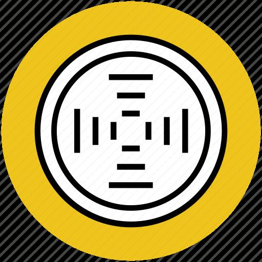 crosshair, dart board, focus, goal, target icon