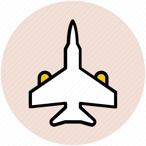 aeroplane, air force, airplane, jet with arms, plane icon