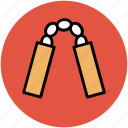 chainsticks, danger sticks, escrima, japanese nunchaku, juantuo, num-chuk, nunchuks icon