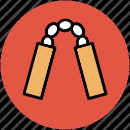 chainsticks, danger sticks, escrima, japanese nunchaku, juantuo, num-chuk, nunchuks icon