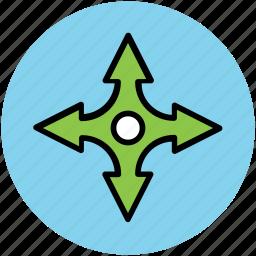 japanese weapon, ninja, ninja shuriken, ninja star, throwing, throwing stars icon