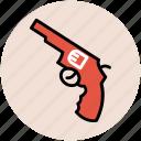 firearm, gun, handgun, pistol, revolver, weapon icon