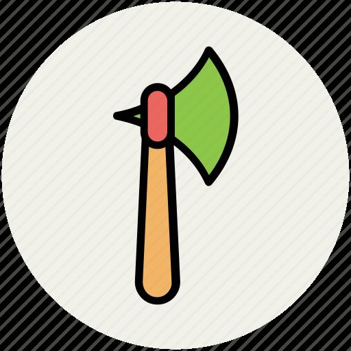 axe, battle axe, battle weapon, halberd, weapon icon