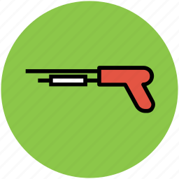 bolt action, pump action, pump action shotguns, rifle, shotgun, slide action icon