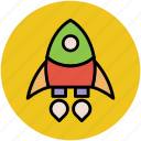 missile, rocket, space, spacecraft, spaceship, weapon icon