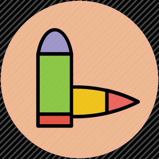bullet cartridge, bullets, fire bullets, gun bullets, weapon bullets icon