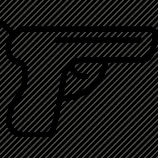 gun, hand, weapon icon