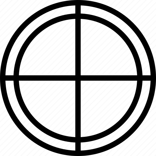 circle, cross, plus, target icon