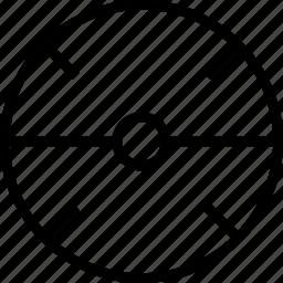 circle, line, target icon