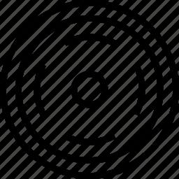 circle, mark, target icon