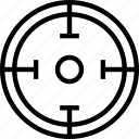 circle, mark, target